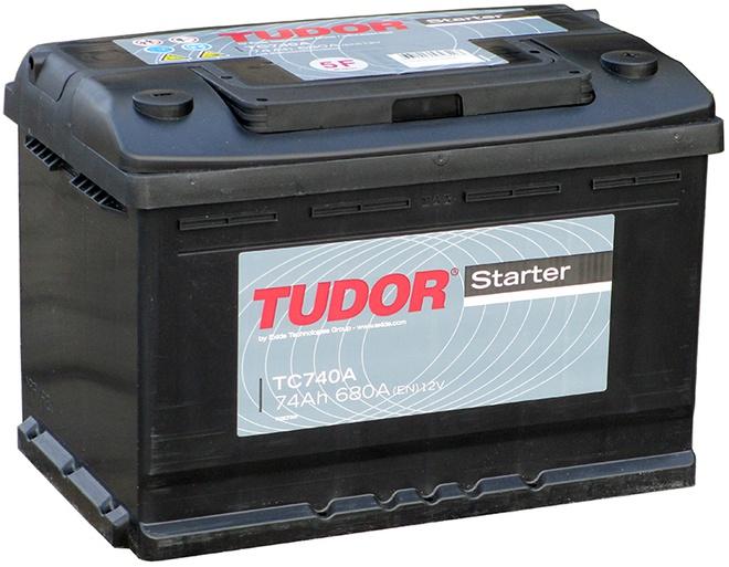 Аккумулятор автомобильный Tudor Starter 74 R