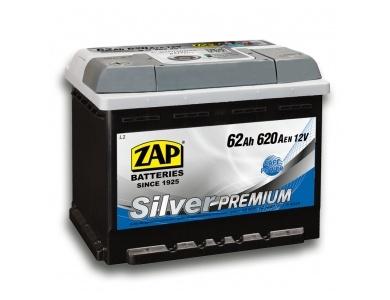 Аккумулятор автомобильный 62 Ah 562 35 ZAP SILVER PREMIUM R+ /о.п./