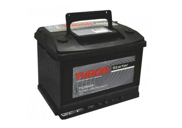 Аккумулятор автомобильный Tudor Starter 55 R