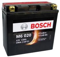 Аккумулятор для мотоциклов Bosch YT14B-BS / YT14B-4 12Ah