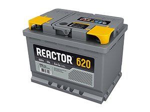 Аккумулятор автомобильный АКОМ 6СТ-62 Реактор
