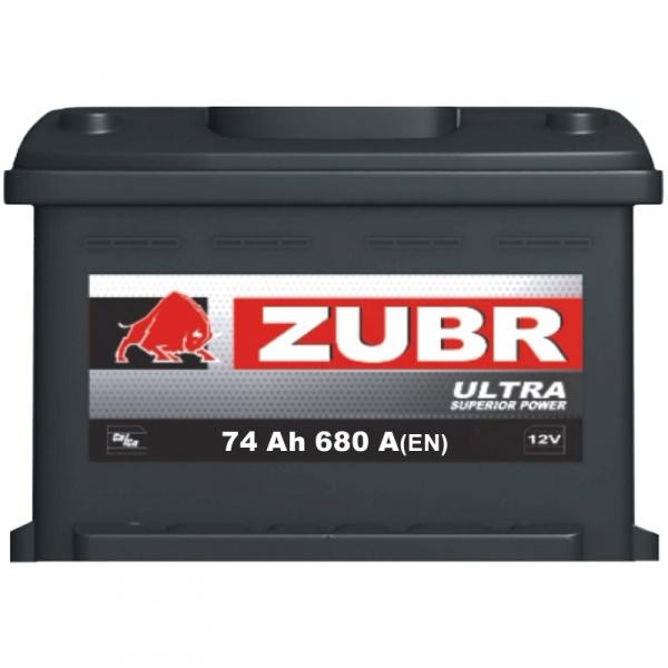 Аккумулятор автомобильный 74 ŻUBR ULTRA