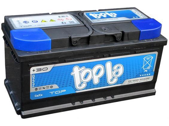 Аккумулятор автомобильный 100 TOPLA TOP