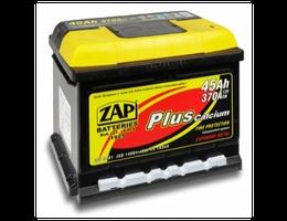 Аккумулятор автомобильный 45 Ah  ZAP PLUS JAPAN L