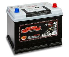 Аккумулятор автомобильный Sznajder Silver Japan [magic eye] 80 JR