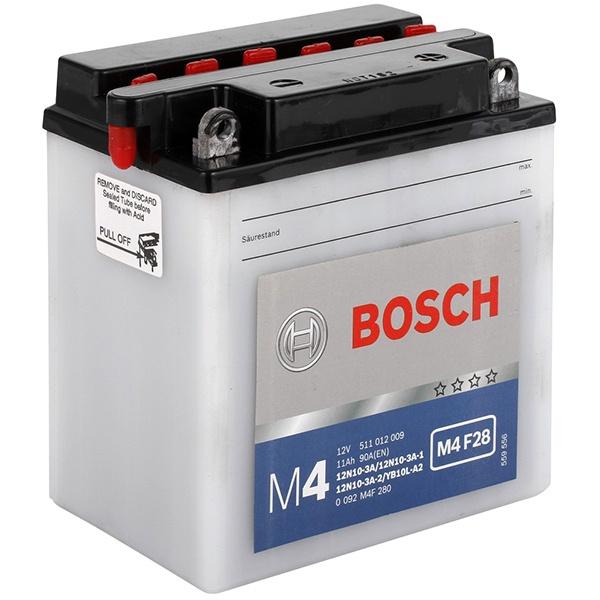 Аккумулятор для мотоциклов Bosch YB10L-A2 / 12N10-3A 11Ah