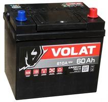 Аккумулятор автомобильный 60Ah VOLAT  JAPAN