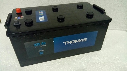 Грузовой аккумулятор 225 Ah THOMAS