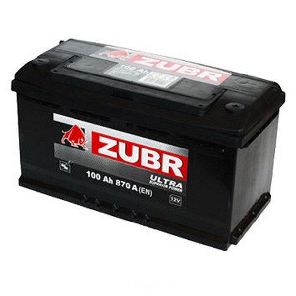 Аккумулятор автомобильный 100 ŻUBR ULTRA