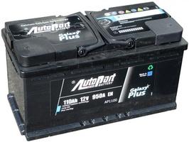 Аккумулятор автомобильный 110Ah Autopart Galaxy Plus R+