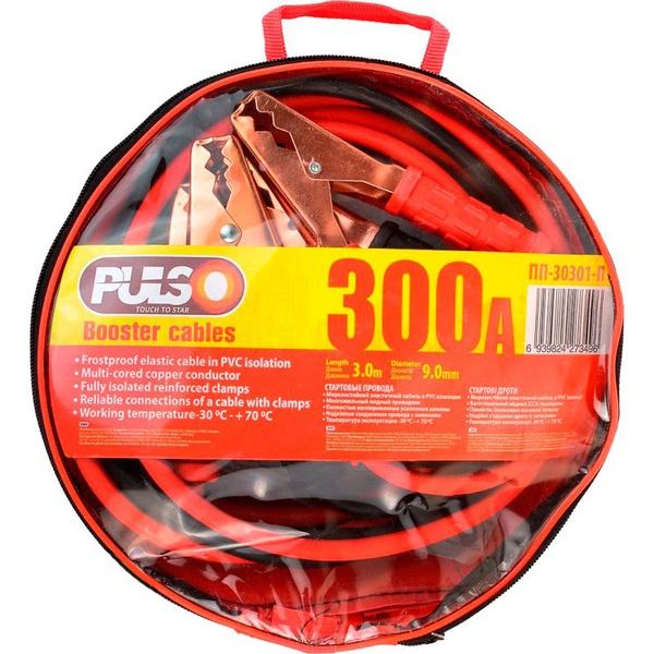 Аксессуары для аккумуляторов Старт-кабель 300А