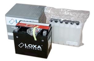 Аккумулятор для мотоциклов LOXA YTX 7L-BS 6Ah